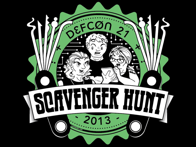 DEF CON 21 Scavenger Hunt
